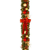 National Tree Company 9 ft. Artificial Cozy Christmas Garland