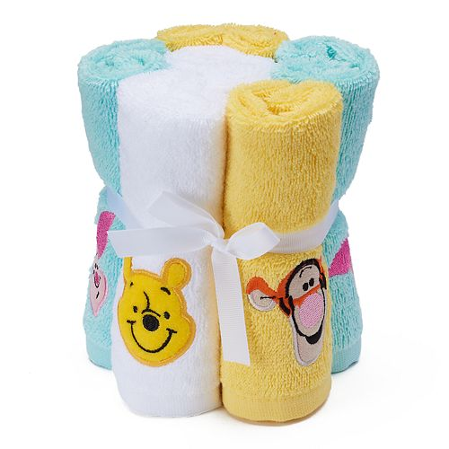Disney's 6-pack Winnie the Pooh Washcloth by Jumping Beans®