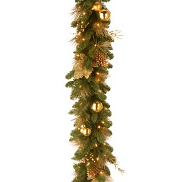 National Tree Company 6 ft. Artificial Elegance Garland
