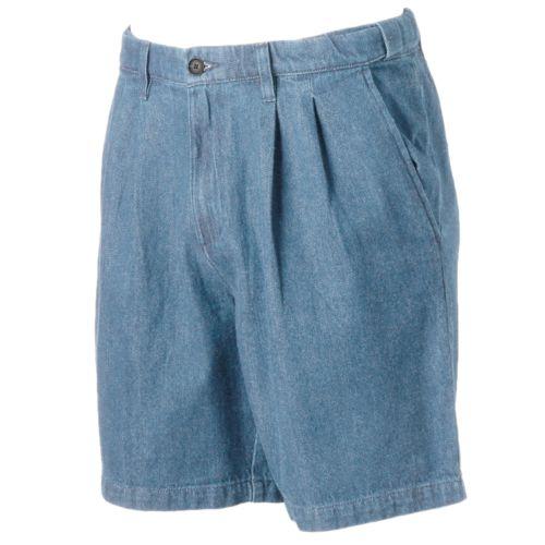 Big & Tall Croft & Barrow® Classic-Fit Denim Flex-Waist Shorts