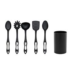 Hamilton Beach 5-pc. Kitchen Tool Set with Holder