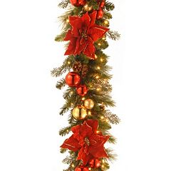 National Tree Company 9 ft. Artificial Home for the Holidays Garland