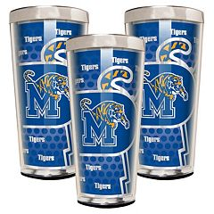 Memphis Tigers 3-Piece Shot Glass Set