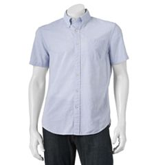 Men's SONOMA Goods for Life™ Modern-Fit Poplin Button-Down Shirt