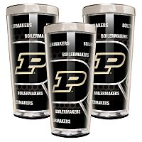 Purdue Boilermakers 3 pc Shot Glass Set