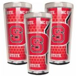 North Carolina State Wolfpack 3-Piece Shot Glass Set