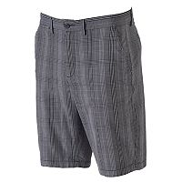 Men's Apt. 9® Modern-Fit Premier Flex Plaid Stretch Flat-Front Shorts