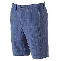 Men's Apt. 9® Modern-Fit Premier Flex Plaid Stretch Flat-Front Shorts