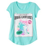 Girls 7-16 SO® Curved-Hem Graphic Tee