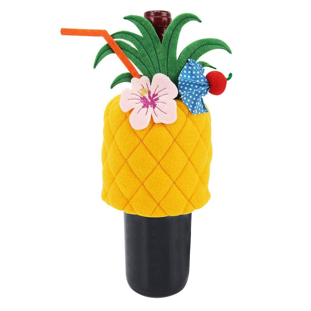 Celebrate Summer Together Pineapple Wine Bottle Cover