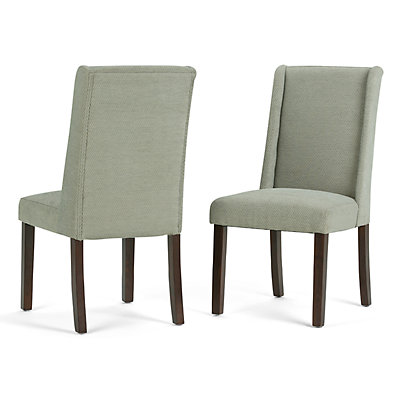 Simpli Home Sotherby Dining Chair 2-piece Set