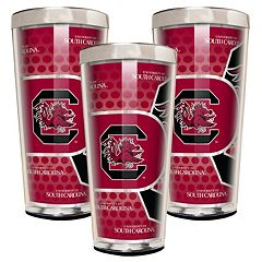 South Carolina Gamecocks 3-Piece Shot Glass Set
