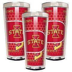 Iowa State Cyclones 3-Piece Shot Glass Set