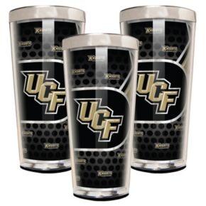 UCF Knights 3-Piece Shot Glass Set