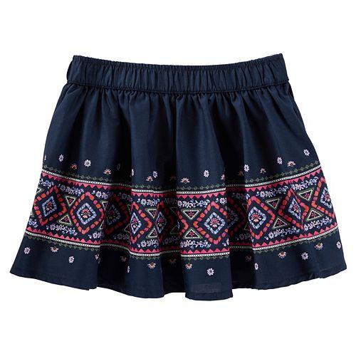 Toddler Girl OshKosh B'gosh® Floral Embroidered Skirt