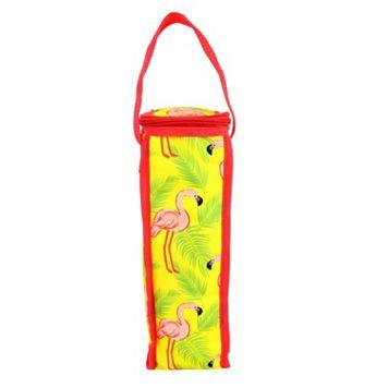 Celebrate Summer Together Flamingo Thermal Wine Bag