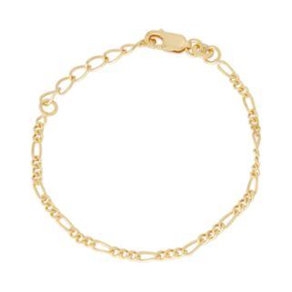 Junior Jewels Kids' Sterling Silver Figaro Chain Bracelet