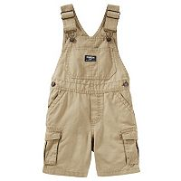 Toddler Boy OshKosh B'gosh® Cargo Canvas Shortalls