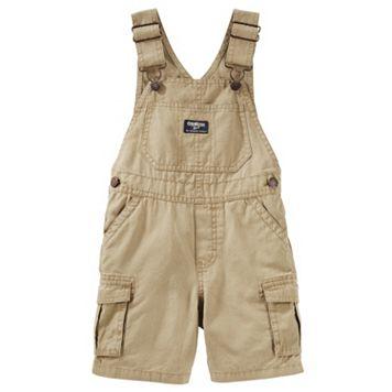 Toddler Boy OshKosh B'gosh® Cargo Canvas Shortalls