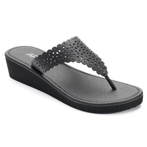 772aa0555e125 Apt. 9® Women s Chop Out Wedge Flip-Flops