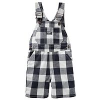 Toddler Boy OshKosh B'gosh® Checked Shortalls