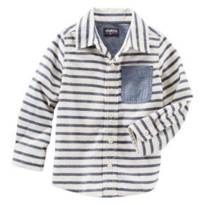 Boys 4-8 OshKosh B'gosh® Striped Button-Front Shirt