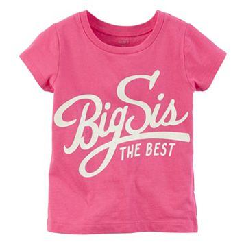 Girls 4-8 Carter's Short Sleeve Pink