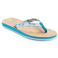 SO® Women's Tie Dye Flip-Flops