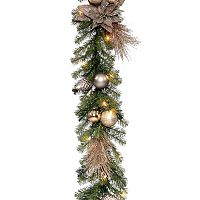 National Tree Company 9 ft. Artificial metallic Garland