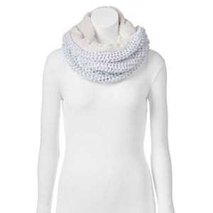 Juicy Couture Cable-Knit Cowl Scarf