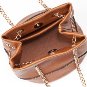 LC Lauren Conrad Lili Mini Convertible Bucket Bag