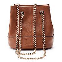 LC Lauren Conrad Lili Mini Convertible Bucket Bag