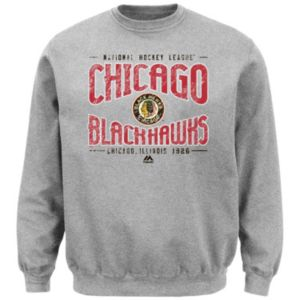 Men's Majestic Chicago Blackhawks Ice Classic Sweatshirt
