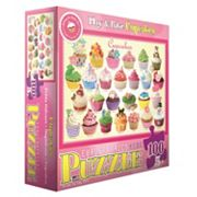 Play & Bake Cupcakes 100 pc Puzzle by Eurographics Inc