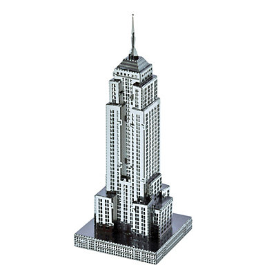 Metal Earth 3D Laser Cut Model Empire State Building Kit by Fascinations