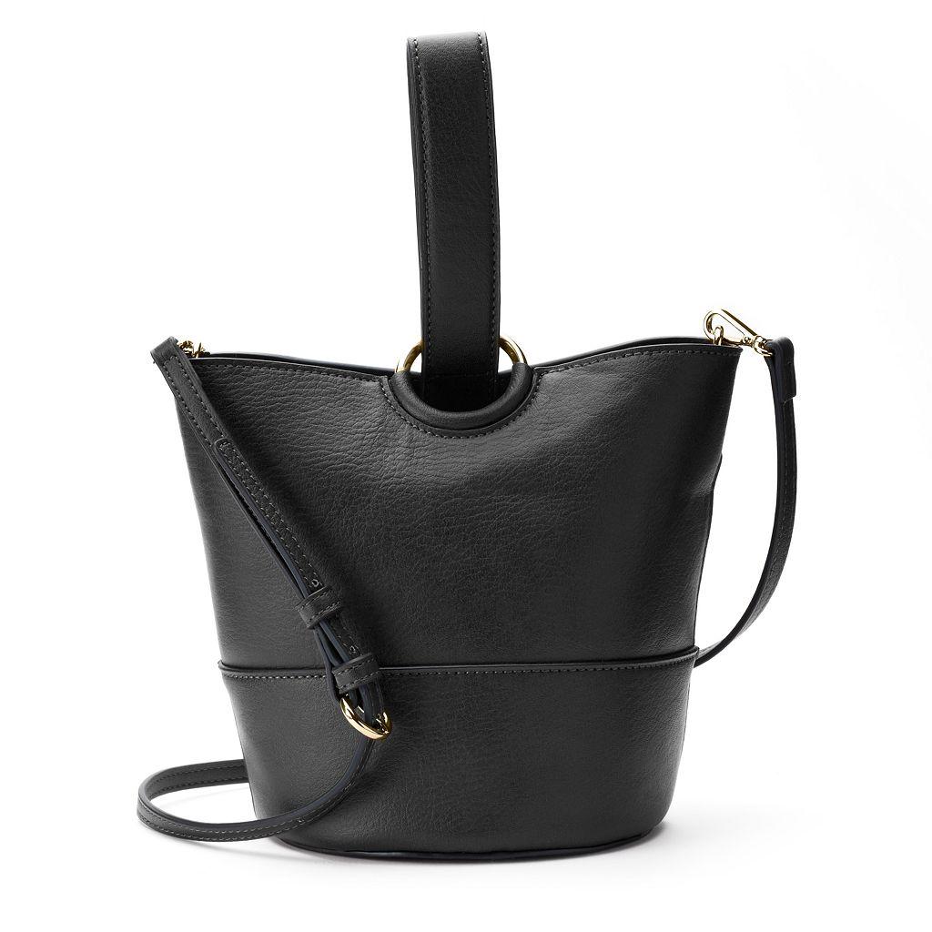LC Lauren Conrad Lili Loop Crossbody Bucket Bag