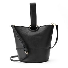 LC Lauren Conrad Lili Loop Crossbody Bucket Bag