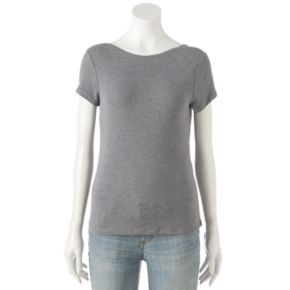 Women's Apt. 9® Scoop-Back Tee