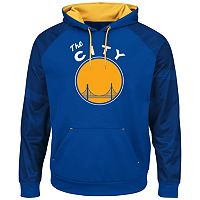 Men's Majestic Golden State Warriors Armor II Pullover Hoodie