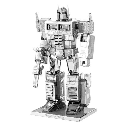 Metal Earth 3D Laser Cut Model Transformers Optimus Prime Kit by Fascinations