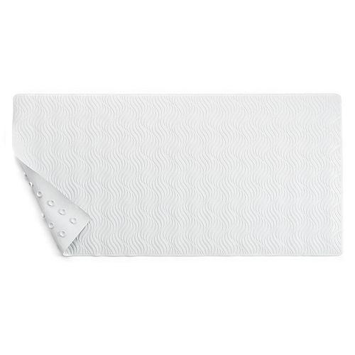 Home Classics® Wave Rubber Tub Mat