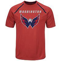 Men's Majestic Washington Capitals Toe Drag Tee