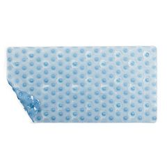 Home Classics® Blue Hexagon Tub Mat