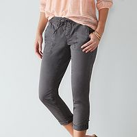 Women's SONOMA Goods for Life™ Pull-On Utility Capris