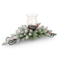 National Tree Company Artificial Dunhill Fir Candle Holder