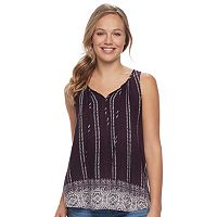 Women's SONOMA Goods for Life™ Print Challis Tank