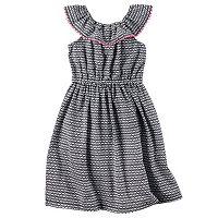 Girls 4-8 Carter's Geometric Maxi Dress