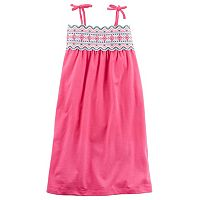 Girls 4-8 Carter's Embroidered Maxi Dress