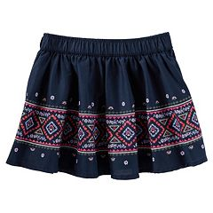 Girls 4-8 OshKosh B'gosh® Floral Embroidered Skirt