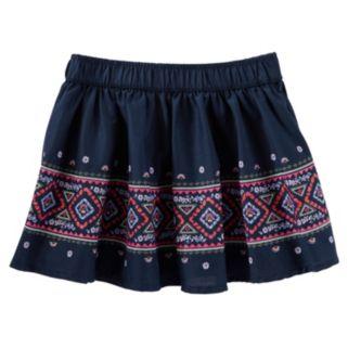 Girls 4-8 OshKosh B'gosh® Floral Embroidered Skirt